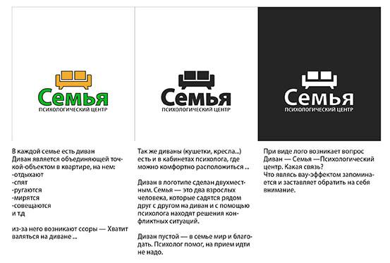 Концепция логотипа психологического центра